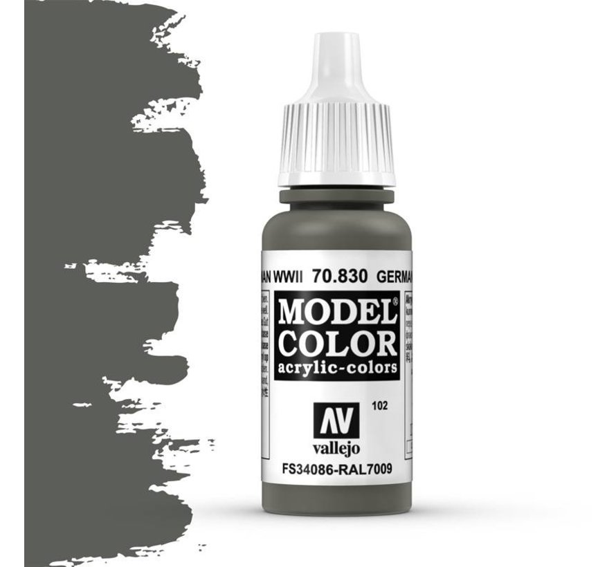 Model Color German Fieldgrey WWII -17ml -70830