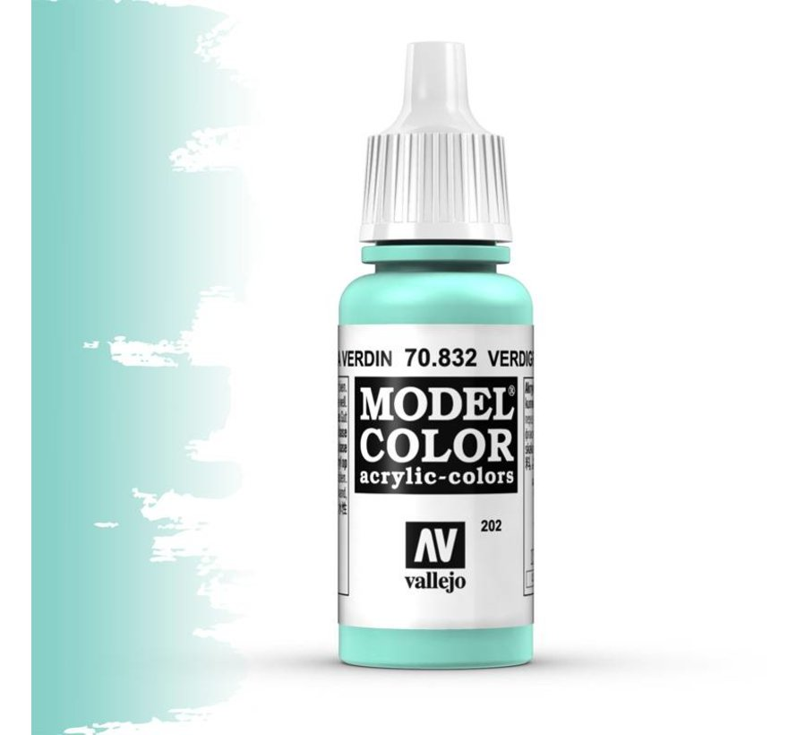 Model Color Verdigris Glaze -17ml -70832
