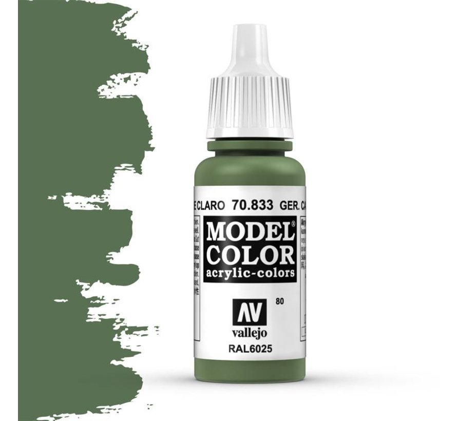 Model Color German Camouflage Bright Green -17ml -70833