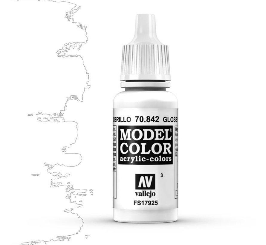 Model Color Glossy White -17ml -70842