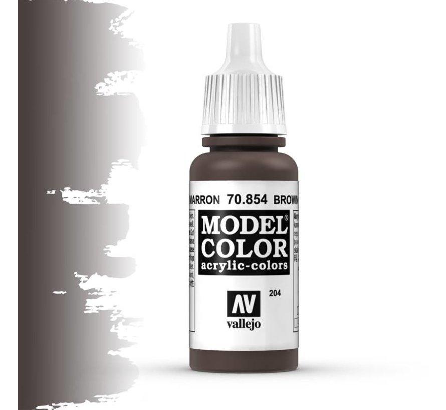 Model Color Brown Glaze -17ml -70854
