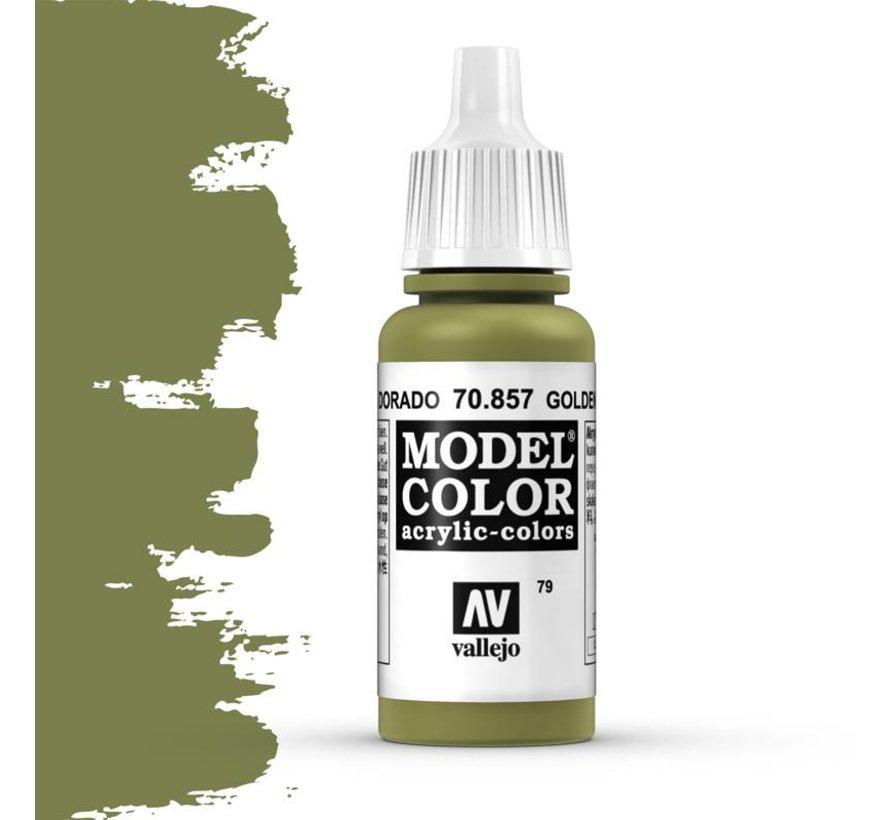 Model Color Golden Olive -17ml -70857