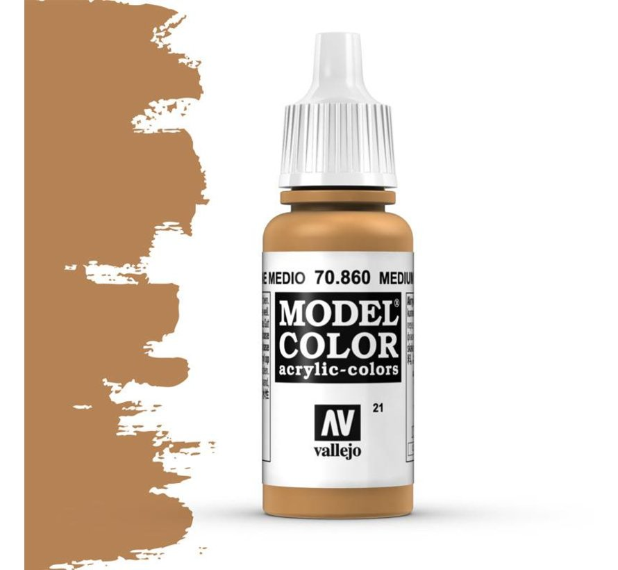 Model Color Medium Fleshtone -17ml -70860