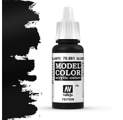 Vallejo Model Color Glossy Black -17ml -70861