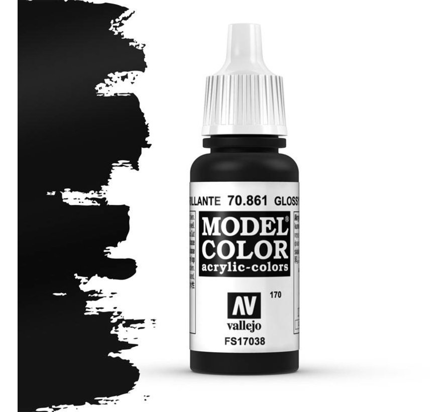Model Color Glossy Black -17ml -70861
