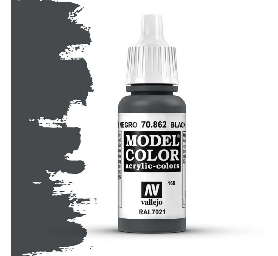 Model Color Black Grey -17ml -70862