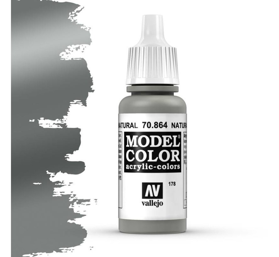Model Color Natural Steel -17ml -70864