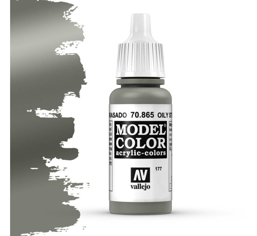 Model Color Oily Steel -17ml -70865