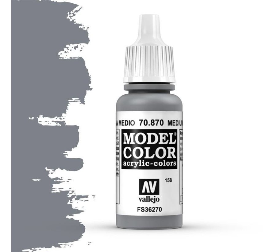 Model Color Medium Sea Grey -17ml -70870