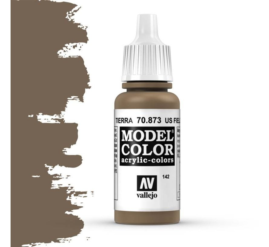 Model Color US Field Drab -17ml -70873