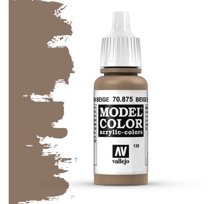 Model Color Beige Brown -17ml -70875