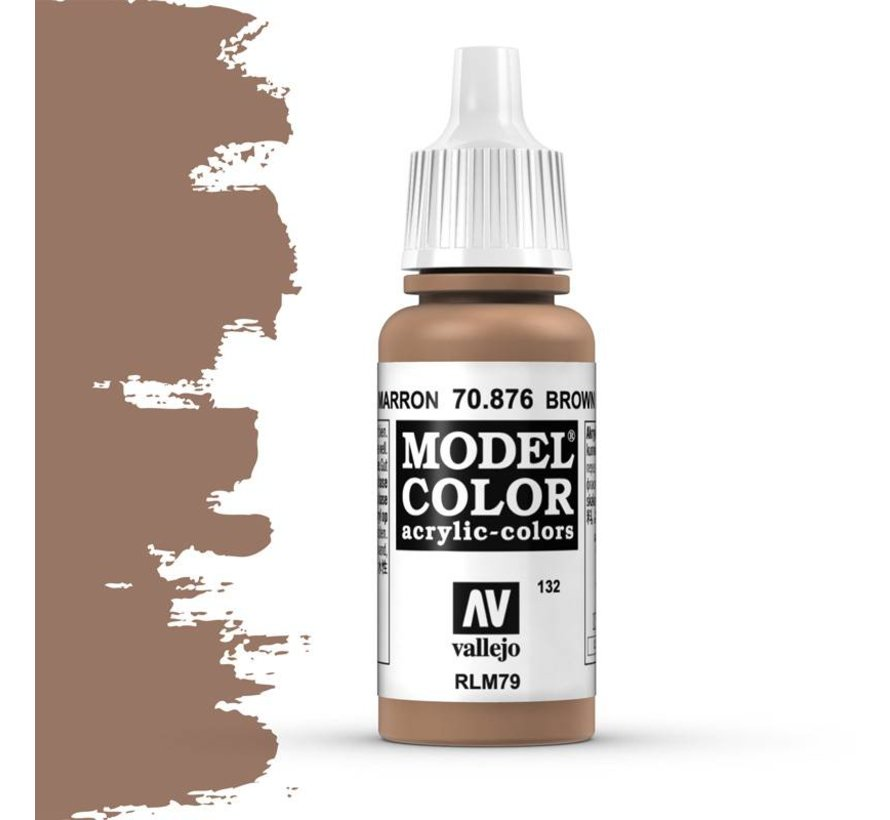Model Color Brown Sand -17ml -70876