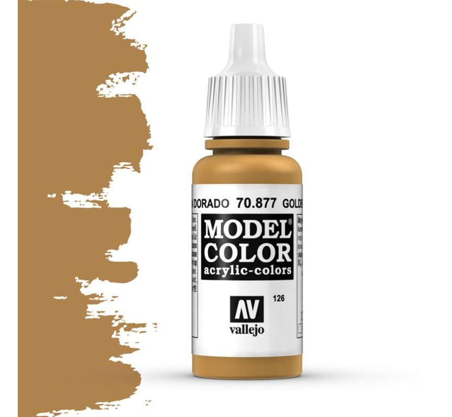 Model Color Goldbrown -17ml -70877