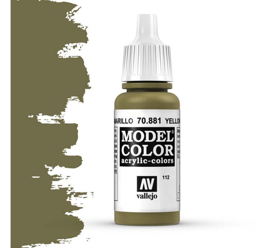 Model Color Yellow Green -17ml -70881