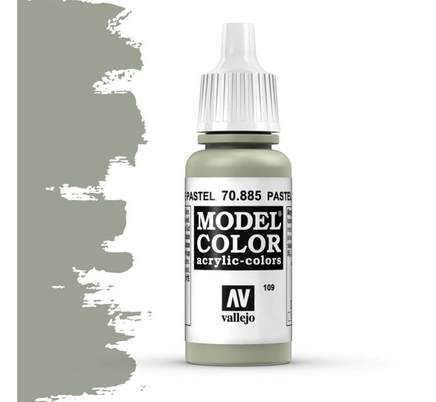 Model Color Pastel Green - 17ml - 70885