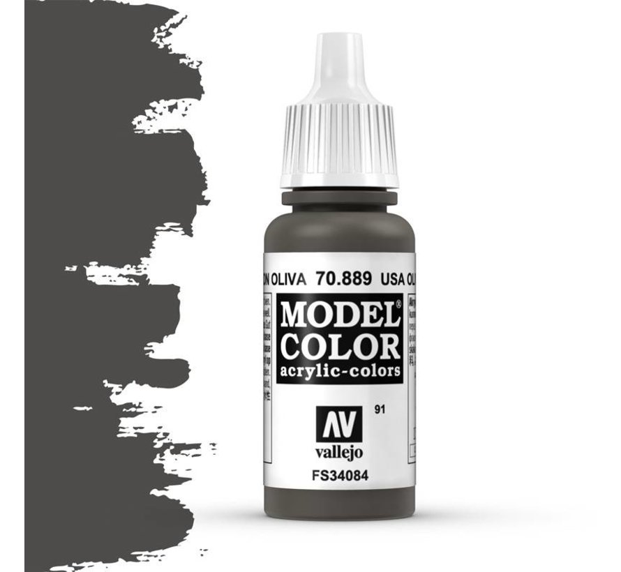 Model Color USA Olive Drab -17ml -70889