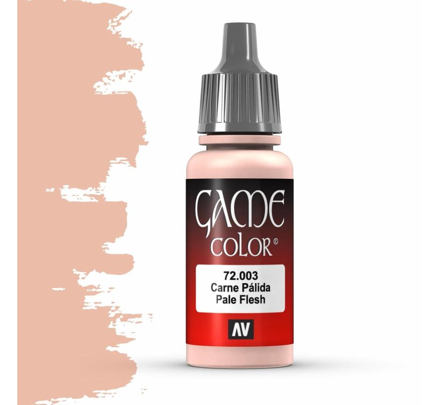 Game Color Pale Flesh - 17ml - 72003