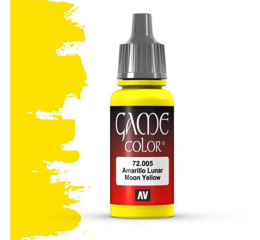Game Color Moon Yellow - 17ml - 72005