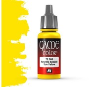 Vallejo Game Color Sun Yellow - 17ml - 72006