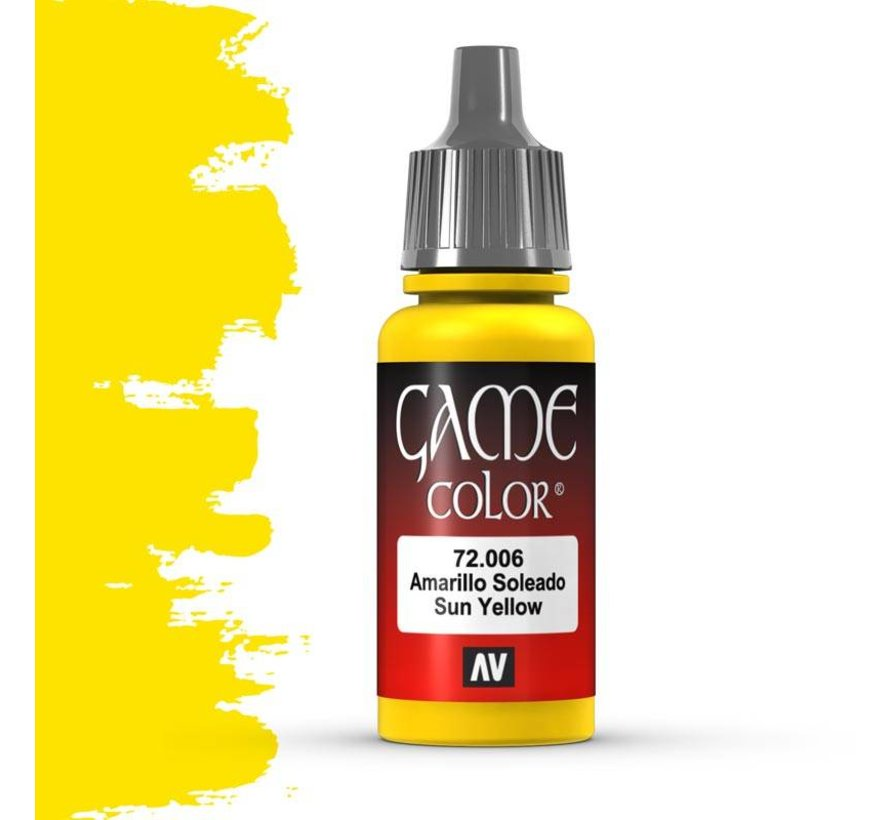 Game Color Sun Yellow - 17ml - 72006