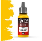 Vallejo Game Color Gold Yellow - 17ml - 72007