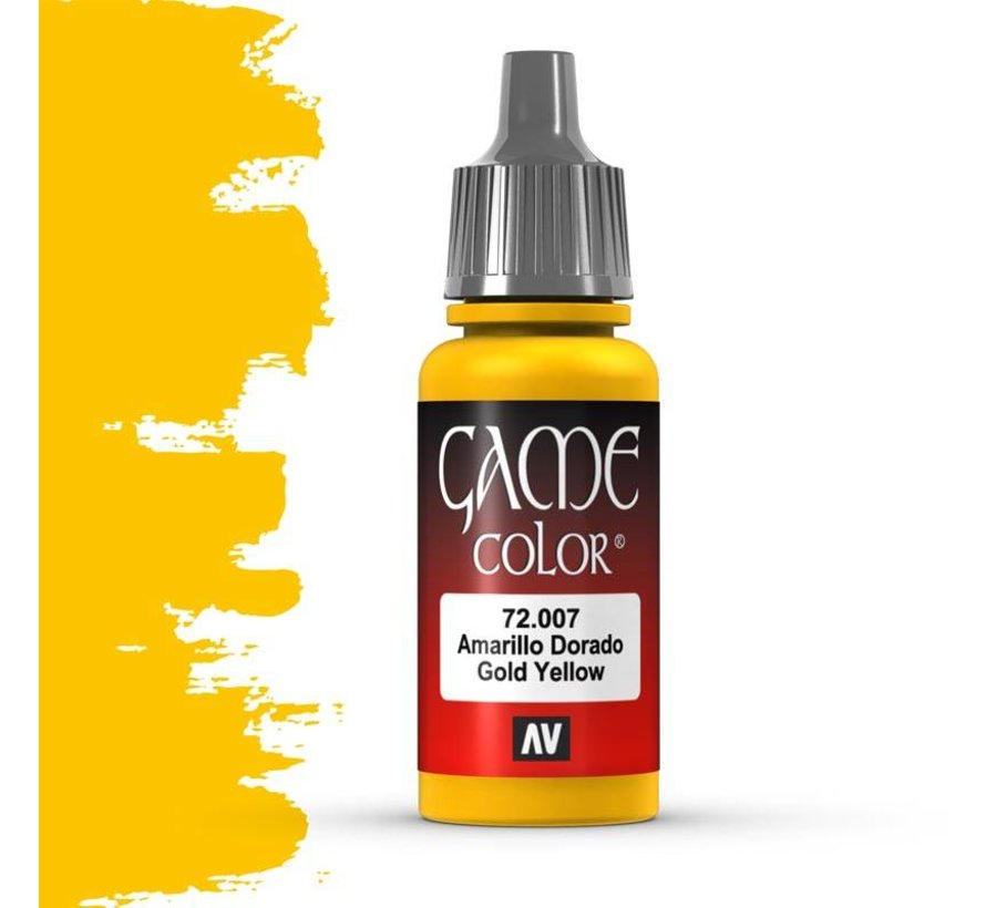 Game Color Gold Yellow - 17ml - 72007