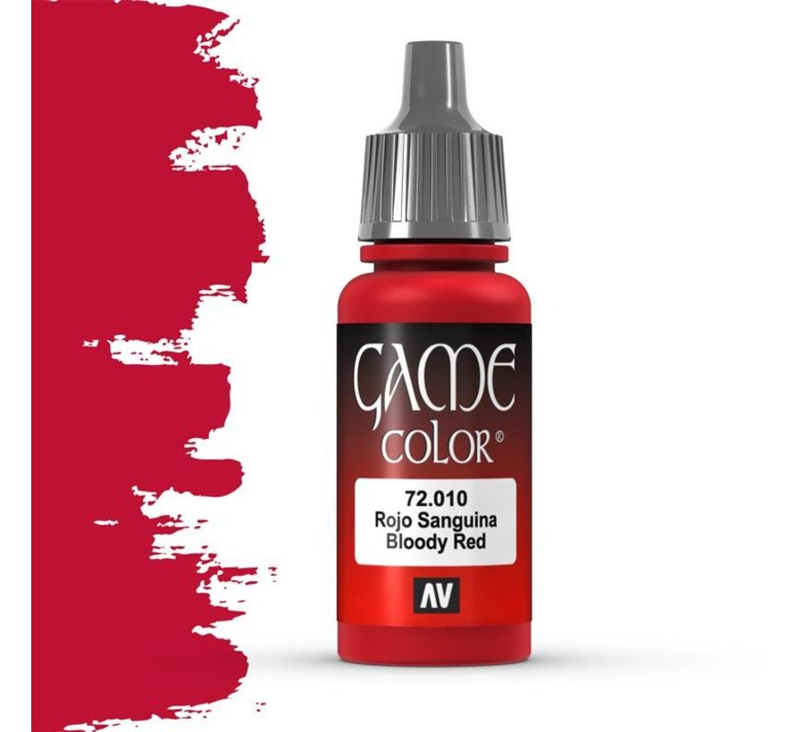 Game Color Bloody Red - 17ml - 72010