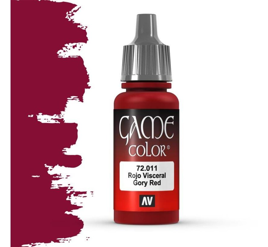 Game Color Gory Red - 17ml - 72011