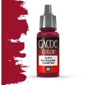 Vallejo Game Color Scarlet Red - 17ml - 72012