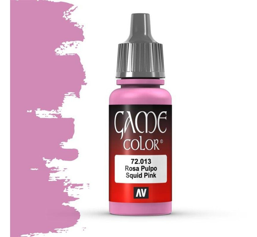 Game Color Squid Pink - 17ml - 72013