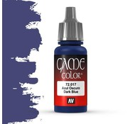 Vallejo Game Color Dark Blue - 17ml - 72017