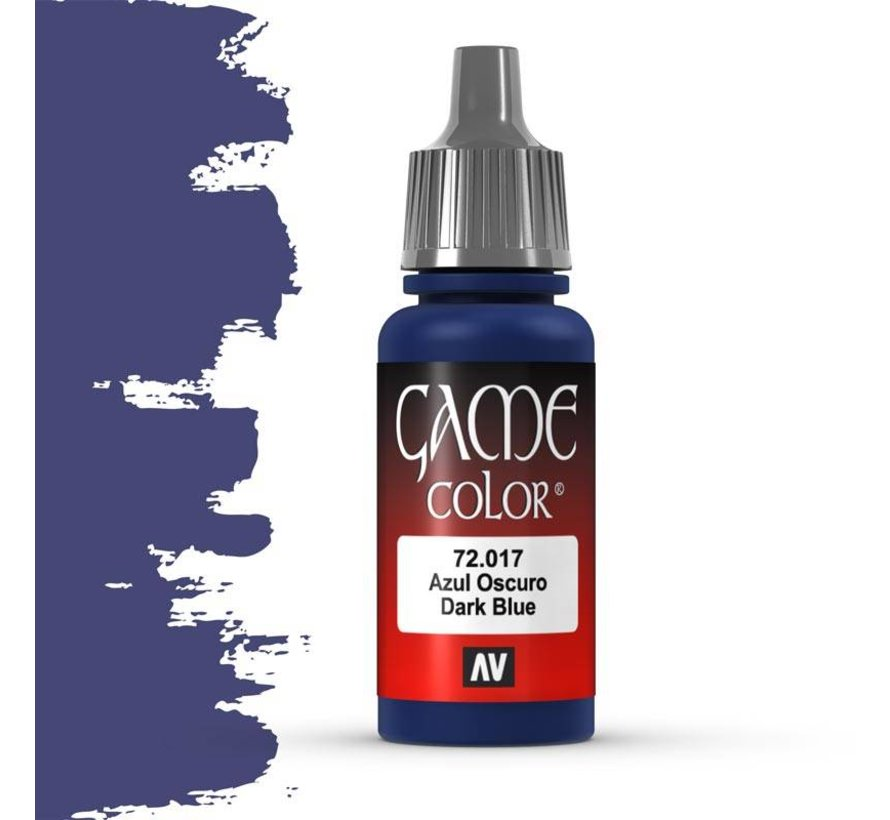 Game Color Dark Blue - 17ml - 72017