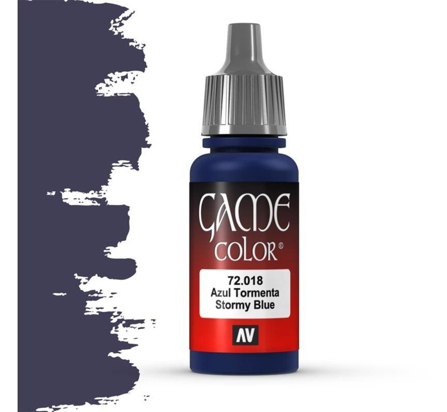 Game Color Stormy Blue - 17ml - 72018