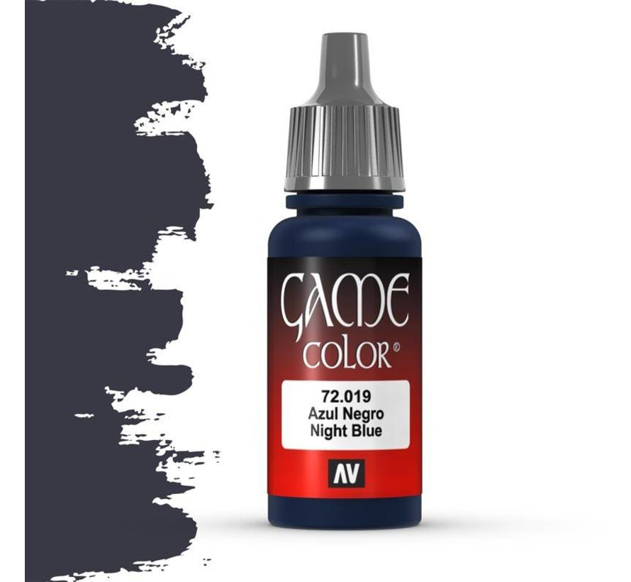 Game Color Night Blue - 17ml - 72019