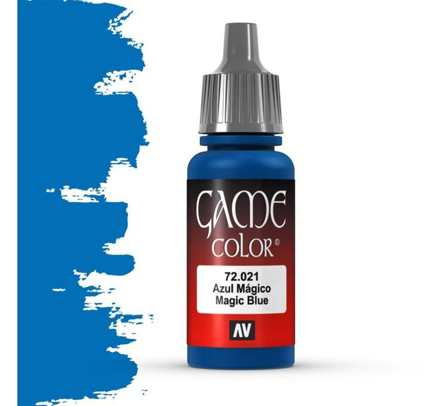 Game Color Magic Blue - 17ml - 72021