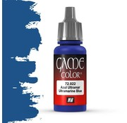 Vallejo Game Color Ultramarine Blue - 17ml - 72022