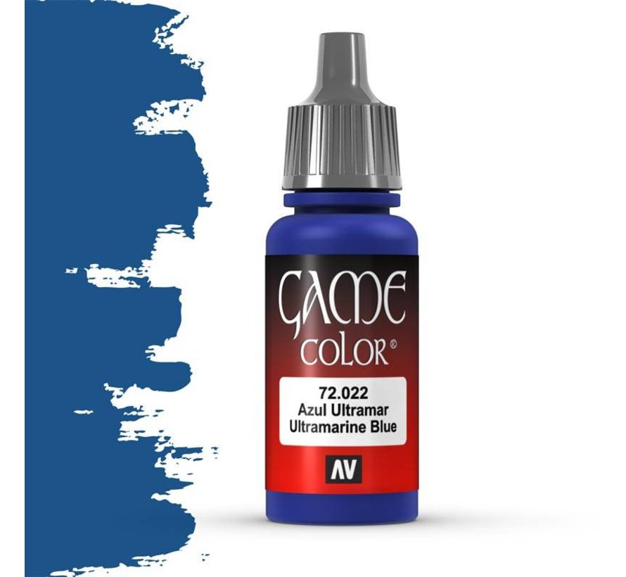 Game Color Ultramarine Blue - 17ml - 72022