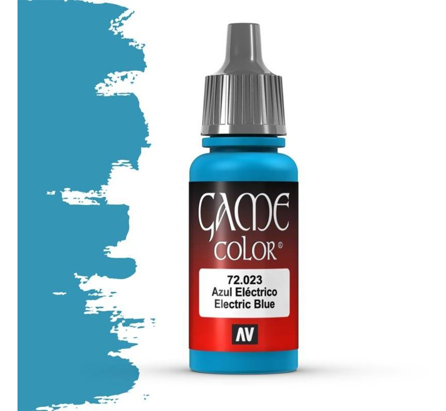 Game Color Electric Blue - 17ml - 72023