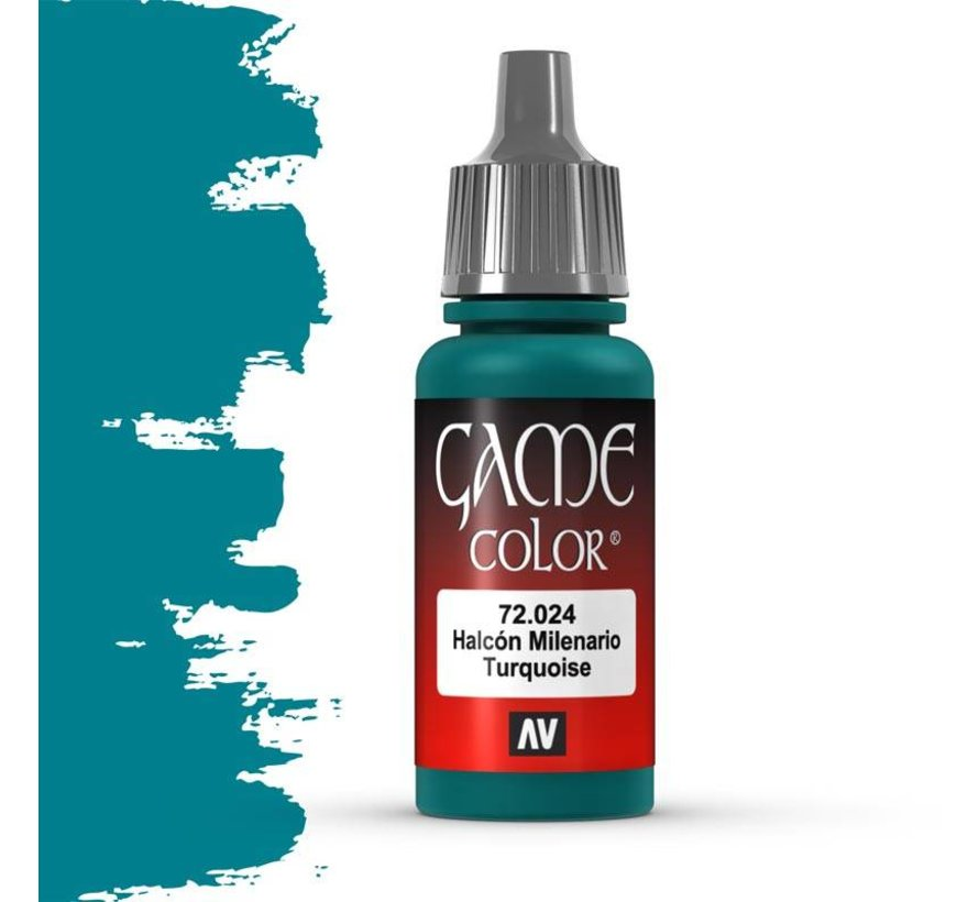 Game Color Turquoise - 17ml - 72024