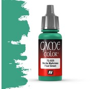 Vallejo Game Color Foul Green - 17ml - 72025