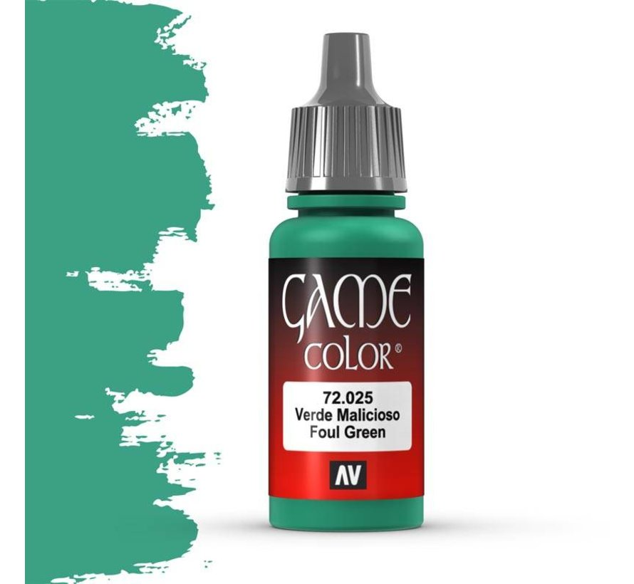 Game Color Foul Green - 17ml - 72025