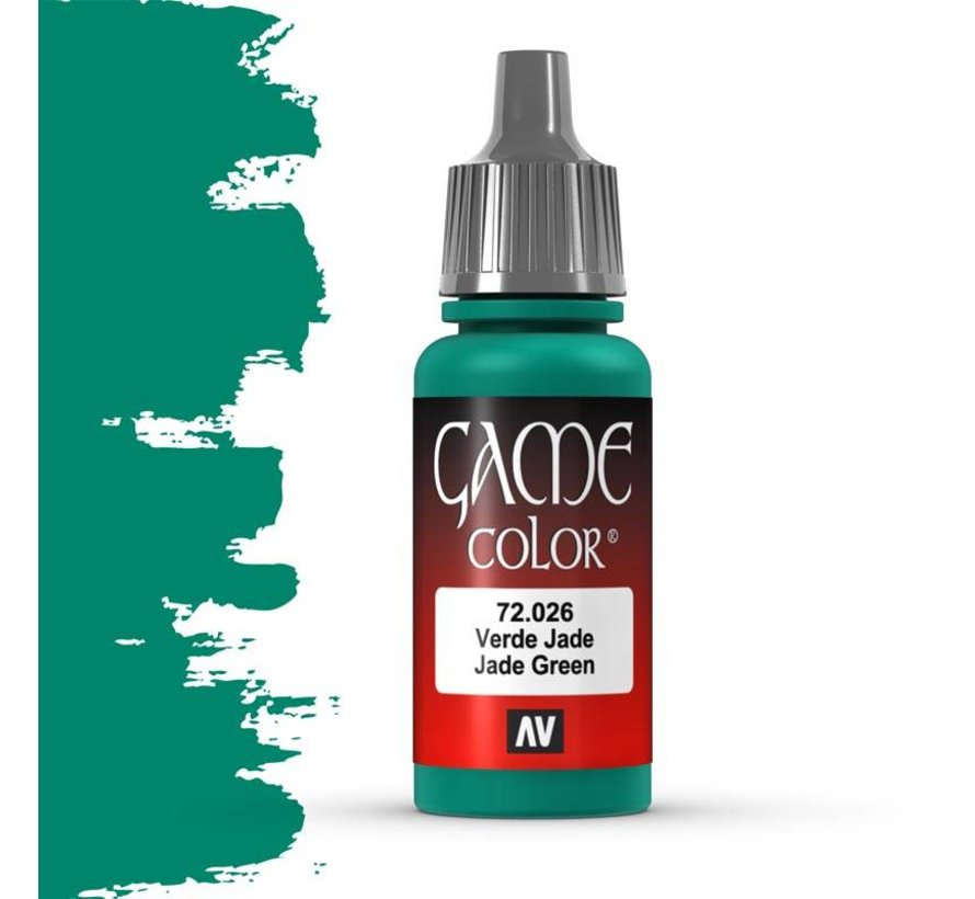 Game Color Jade Green - 17ml - 72026