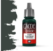 Vallejo Game Color Dark Green - 17ml - 72028
