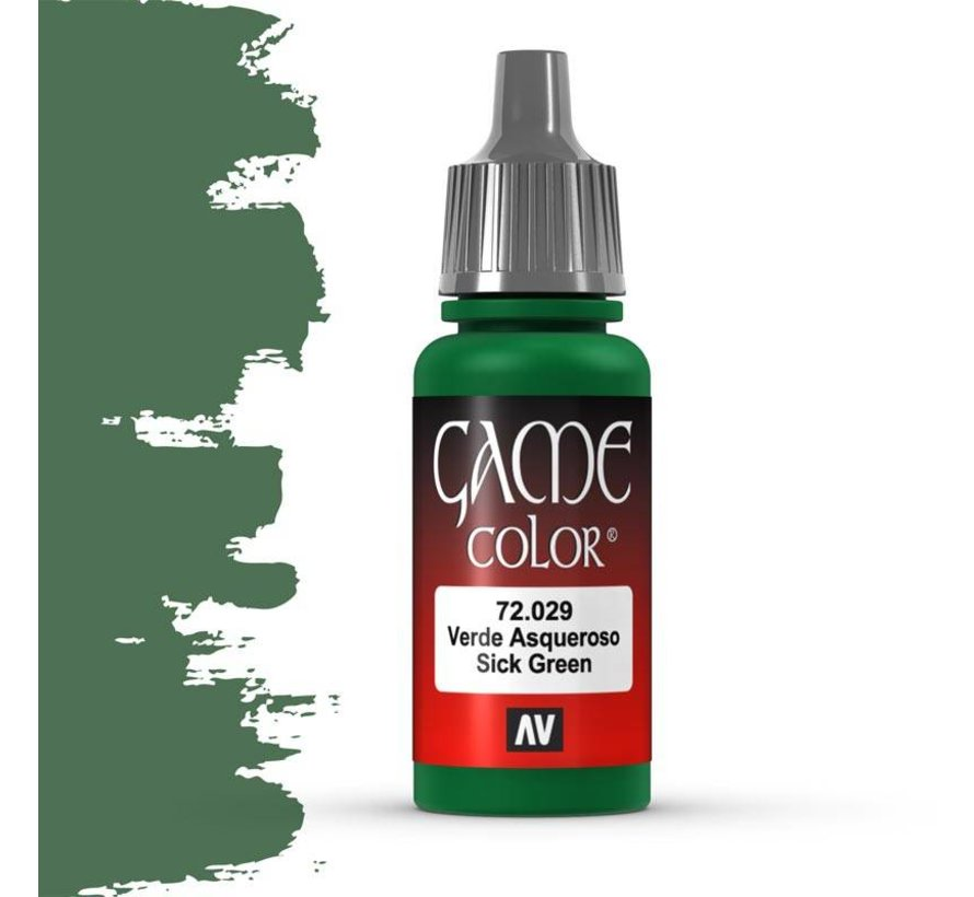 Game Color Sick Green - 17ml - 72029