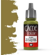 Vallejo Game Color Camouflage Green - 17ml - 72031