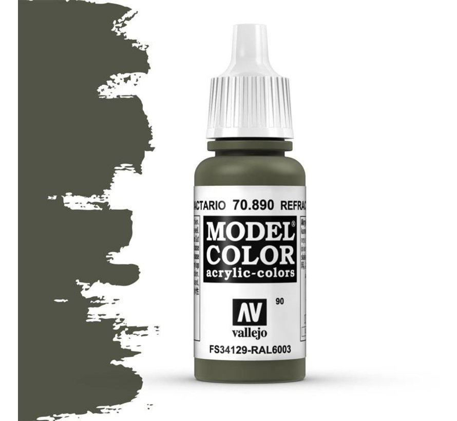 Model Color Reflective Green -17ml -70890