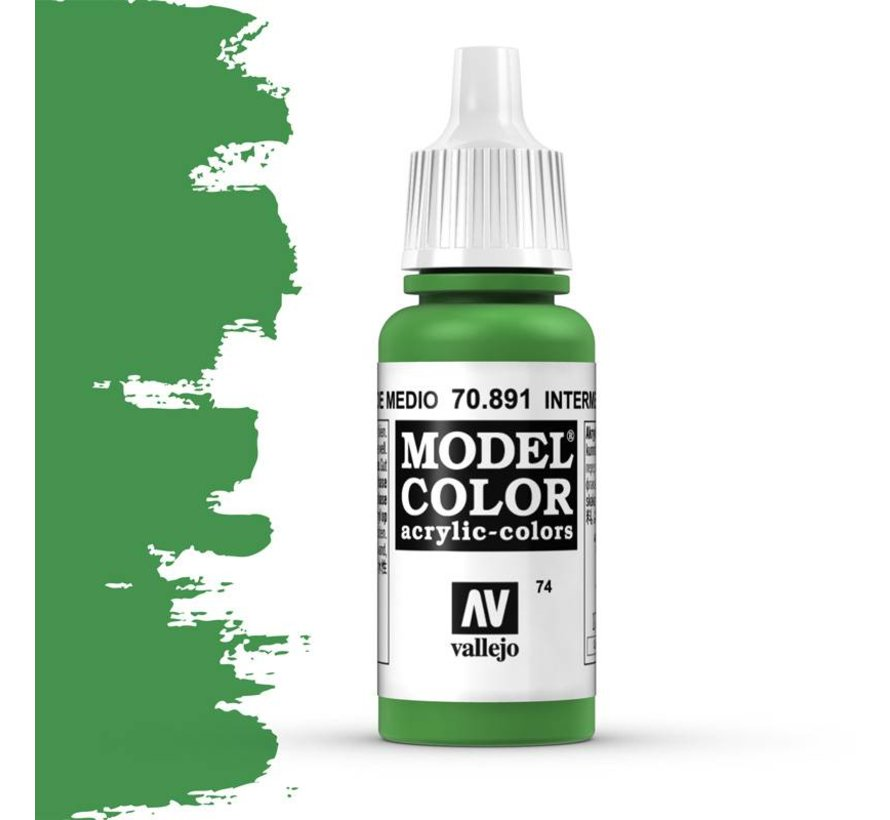 Model Color Intermediate Green -17ml -70891