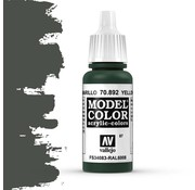 Vallejo Model Color Yellow Olive -17ml -70892