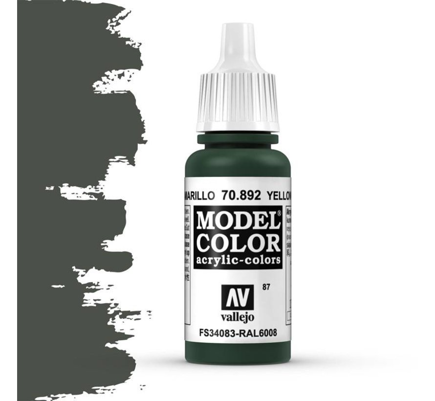 Model Color Yellow Olive -17ml -70892