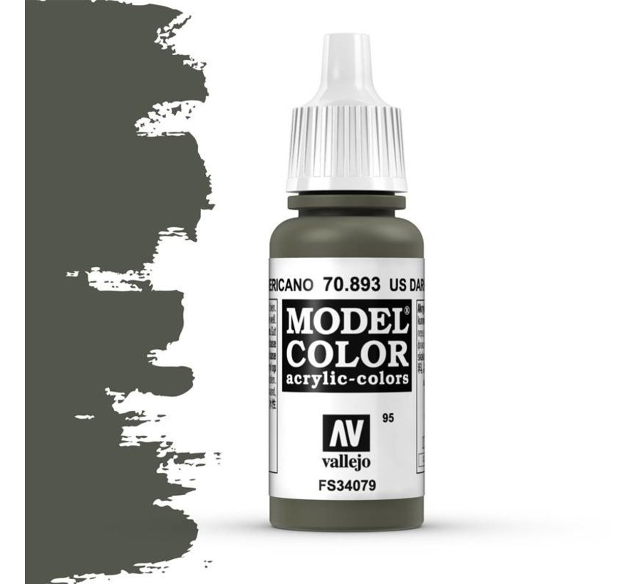 Model Color US Dark Green -17ml -70893